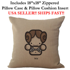 "18x18 18""x18"" 18in STAR WARS PRINCESS LEIA Lightsaber Pillow Case&Pillow Cushion"