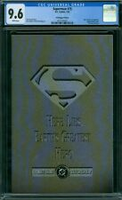 Superman 75 CGC 9.6 - White Pages - No Reserve Auction - Poly-Bagged Edition