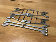 Aluminum Suspension ARMS for HPI SAVAGE .21 .25 & Savage X silv