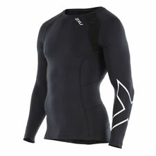 New 2XU Men Long Sleeve Top Compression Jersey Train Compete Recover *All Sizes*