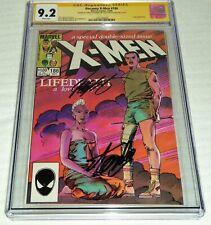Uncanny X-Men #186 CGC 9.2 SS X 2 Chris Claremont, Stan Lee