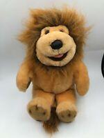 24K Polar Puff Special Effects Barney Lion Plush Soft Stuffed Toy Animal Doll