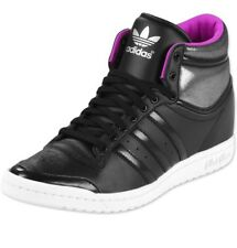 Adidas Femme Noir et Violet élégant série baskets/5.5 uk
