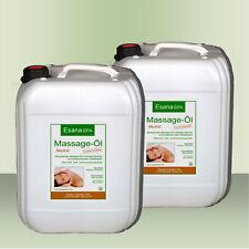 Esana SPA  Massageöl Neutral  2 x 10 Liter in DAB/Ph. Eur. Qualität