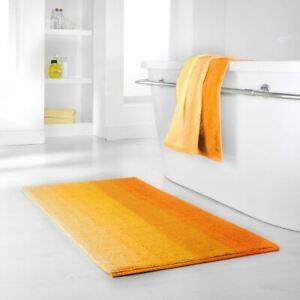 Dyckhoff High Quality 100% Organic Cotton Bath Shower Mat Yellow Anti Non Slip
