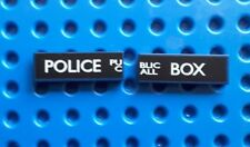 Lego 63864pb038R/L bleu foncé Carreaux 1x3 (Police Public Call Box) from set 21304