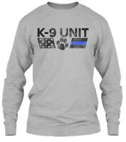 K-9 Unit Gildan Long Sleeve Tee T-Shirt