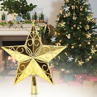 Christmas Tree Star Topper Ornament Party Decoration Xmas Home   P Q