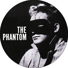 CHAPA/BADGE THE PHANTOM . pin button rockabilly elvis presley the cramps trash