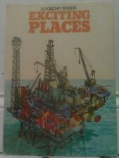 LOOKING INSIDE EXCITING PLACES 1976 BOOK BY DAVID SHARP