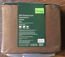 Twin Sheet Set Rich Brown