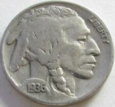 1936 Buffalo Nickel in a SAFLIP® - VF- (Fine+)