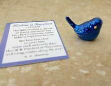 Ganz Blue Bird of Happiness Pocket Charm ~ Pocket Token & Card  ~ Happiness