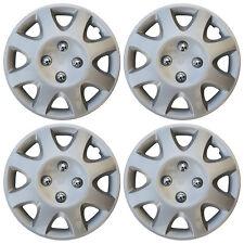 "4 Pc Set Silver Hub Cap ABS Fits 1998 1999 2000 HONDA CIVIC 14"" Wheel Cover Caps"