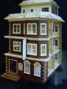 Darlington  1 Inch Scale Dollhouse Kit By Majestic Mansions