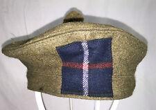 HIGHLAND LIGHT INFANTRY SCOTTISH TAM O SHANTER BONNET - 56cm , British Army