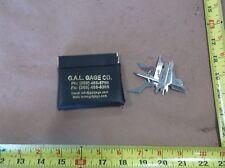 GAL Gage Pocket Fillet Weld Gauge Set, Metric, English