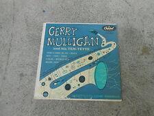 "GERRY MULLIGAN AND HIS TEN TETTE-CHET BAKER-10"" LP-CAPITOL  H 439-VG+"