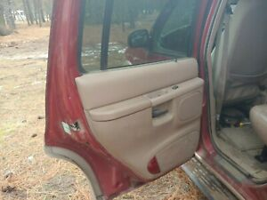 Ford Explorer driver side rear door fits 98 99 00 01 red