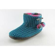 Zapatillas de andar de tacón bajo (menos de 2,5 cm) de color principal azul por casa de mujer