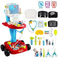 deAo Little Doctor Kids Medical Center Portable Role Play Set with Accessories