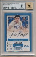 LONZO BALL 2017/18 PANINI CONTENDERS RC ROOKIE AUTOGRAPH SP AUTO BGS 9 MINT 10