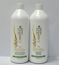 Biolage Exquisite Oil Shampoo Conditioner 33.8 oz Liter Duo Set Matrix