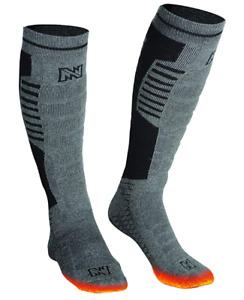 Mobile Warming Standard Socks 3.7 V Gray/Black