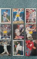 Rico Brogna Baseball Card Mixed Lot approx 28 cards