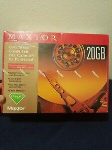 3.5 Inch EIDE Hard Drive Kit 20GB Maxtor Ultra ATA 100 5400 RPM High Perform NEW