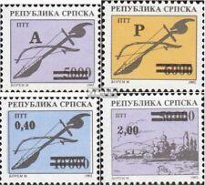 Serbian Republic bos.-h 32-35 mint never hinged mnh 1994 clear brands + einschre