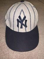 Vtg American Needle MLB New York Yankees Wool  Blend Baseball  Style Hat  Sz. 7
