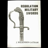 British & Foreign Regulation Military Swords Plate Guide Booklet Book