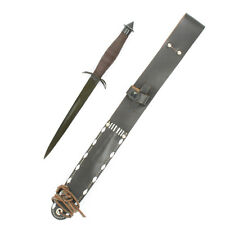 U.S. WWII V42 Elite Special Forces Knife with Leather Scabbard- Economy Grade