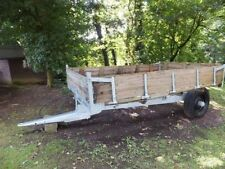 1 Axles Agriculture & Farming Braked Trailers