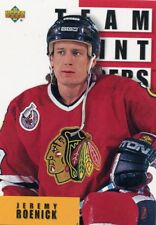 JEREMY ROENICK 1993-94 Upper Deck Team Point Leaders #289  Chicago Blackhawks