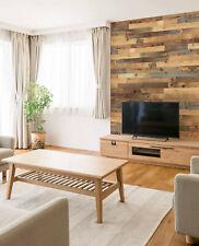 wodewa Holz Wandverkleidung original ALTHOLZ I selbstklebend I Holzpaneele