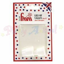FMM Sugarcraft Lily of the VALLEY Cutter Set de 2