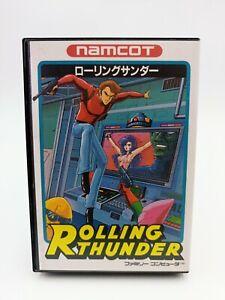 Famicom Family Game - Rolling Thunder - Namcot - Versión Japan