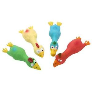 Dog Toy Play Funny Pet Puppy Chew Squeaker Squeaky Sound Plush Toys G5Y3