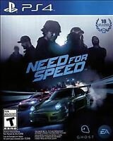 PLAYSTATION 4 PS4 GAME NEED FOR SPEED Pre Owned