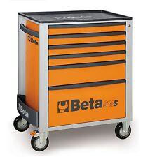 Beta C24S/6 6 Drawer Mobile Roller Cabinet Orange