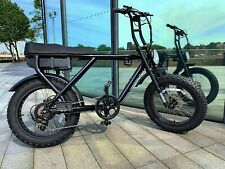 250W Electric Bike - With Pedal Assist - 2 Seater, Full Throttle and Fat Tyres