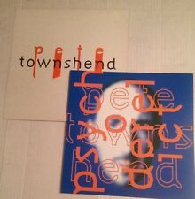 Pete Townshend The Who Psychoderelict (2) Original 1993 Promo Poster Photo Flats