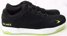 Lake Boltless Casual Athletic Black Perf Bicycle Cycling Sneakers Men's US 7.5