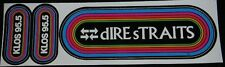 KLOS Vintage  Rainbow Decal/Sticker - dIRE sTRAITS