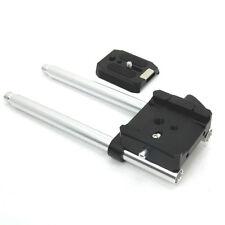 Kamerar qp-15 quick release plate rápido cambio placa Rail kit bp-2