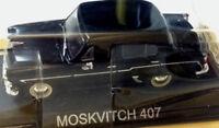 Moskvitch 407 Nera - Scala 1:43 - DeAgostini - Nuova