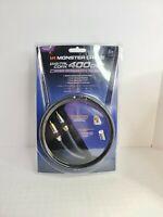 Monster 400DCX Digital Coax Advanced Performance Audio Cable 4m/13.12ft Coaxial