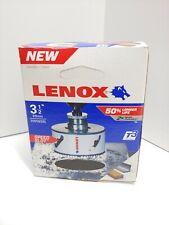 """NEW Lenox T3 Hole Saw 3 1/2"""" Bi Metal Speed Slot USA 3005656L"""